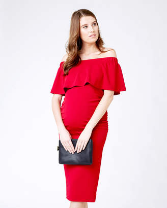 Ripe Maternity Soiree Off-Shoulder Dress