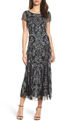 Women's Pisarro Nights Embellished Mesh Gown $238 thestylecure.com