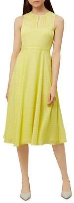 Hobbs London Emma Fil Coupe Dress