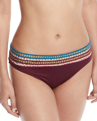 LaBlanca La Blanca Running Stitch Hipster Bikini Swim Bottoms