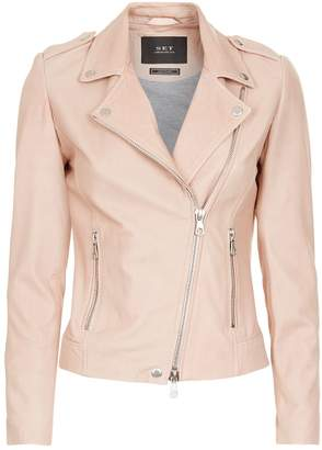 SET The Tyler Leather Jacket