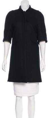 Marni Wool Short Sleeve Coat