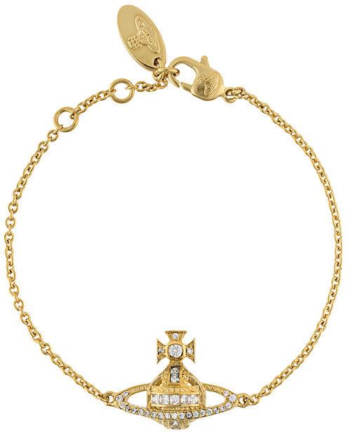 Vivienne WestwoodVivienne Westwood stoned cross applique bracelet