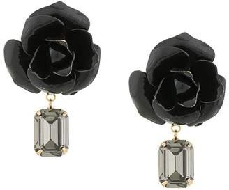 Jennifer Behr 14kt gold plated rose earrings