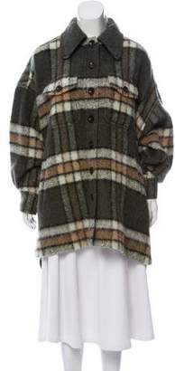 Chloé Mohair Knee-Length Coat w/ Tags
