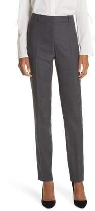 BOSS Tilunana Pinstripe Suit Trousers