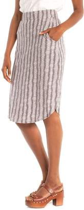 Synergy Tribal Stitch Amsterdam Scalloped Hem Skirt