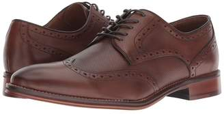 Johnston & Murphy Conard Embossed Wingtip Men's Lace Up Wing Tip Shoes