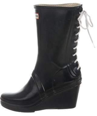 Hunter Wedge Rain Boots