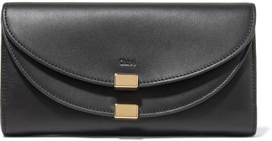 Chloé Chloé - Georgia Leather Wallet - Black