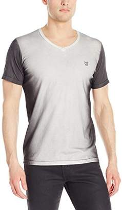 Cult of Individuality Men's Short Sleeve V Neck Tee