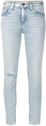 Current/Elliott high-waisted stiletto jeans