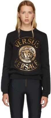 Versus Black Versace Lion Sweatshirt