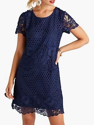 50d212bf5d6a Plus Size Lace Dress - ShopStyle UK
