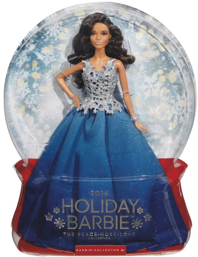 Barbie Barbie 2016 Holiday Barbie Doll - Blue
