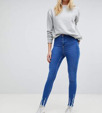 New Look Tall Frayed Hem Jeans