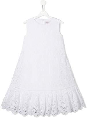 Alberta Ferretti Kids embroidered special occasion dress