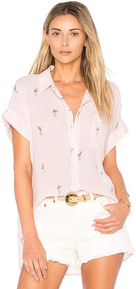 Rails Whitney Button Down in Pink $136 thestylecure.com