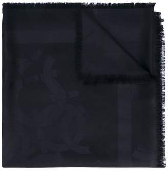 Hollywood print scarf - Black Salvatore Ferragamo PDXTBV6Qom