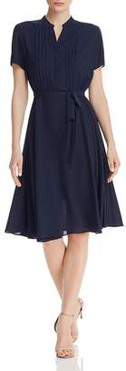 Nanette Lepore nanette Pintuck Detail Dress