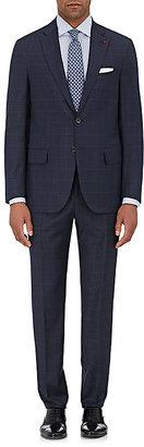 Isaia Men's Sanita Wool-Flannel Two-Button Suit $3,895 thestylecure.com