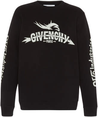Givenchy Graphic Embroidered Logo Sweatshirt