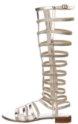 4afe8ac96e7 Pre-Owned at TheRealReal · Stuart Weitzman Leather Gladiator Sandals