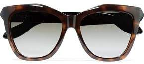 Givenchy Cat-Eye Tortoiseshell Acetate Sunglasses