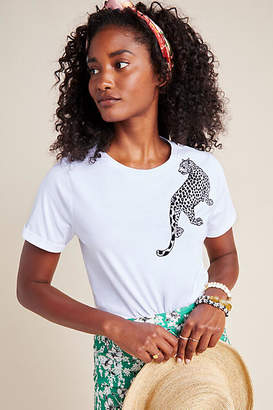 Seen Worn Kept Leopard Graphic Tee