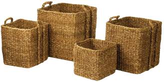 Napa Home & Garden Apple Baskets and Bin Set (4 PC)