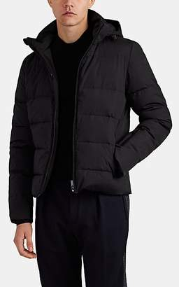 Fendi Men's Monster-Motif Down Puffer Coat - Black