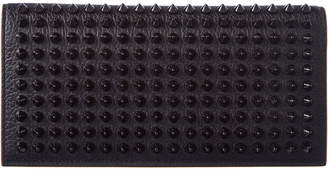 Christian Louboutin Naxos Spiked Leather Wallet