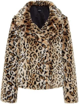 Sam Edelman Leopard Short Chubby Jacket