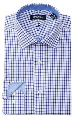 Nautica Check Classic Fit Dress Shirt