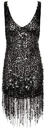 ATTICO Sequinned minidress