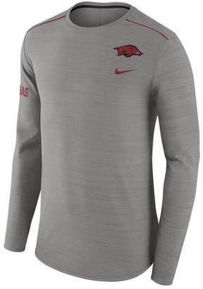 Nike Men's Arkansas Razorbacks Dri-Fit Breathe Long Sleeve T-Shirt