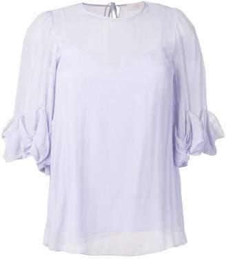 See by Chloe ruffle sleeve blouse