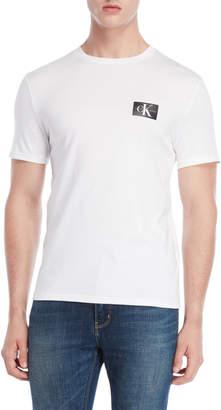 Calvin Klein Jeans White Monogram Tee