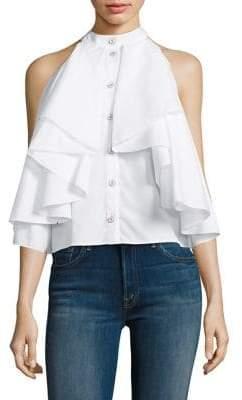 Caroline Constas Adrie Ruffle Shirt