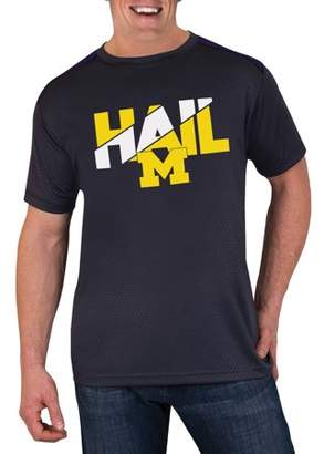 NCAA Michigan Wolverines Men's Athletic-Fit Impact T-Shirt