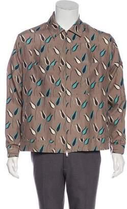 Valentino Floral Shirt Jacket