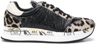 Premiata Conny leopard print sneakers