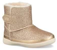 UGG Baby Girl's, Little Girl's and Girl's Faux Fur Keelan Glitter Boots