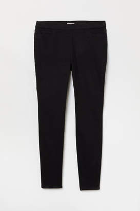 H&M H&M+ Skinny Fit Treggings - Black