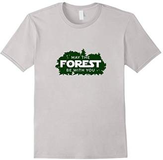 May the Forest be with You | Hiking Nature Outdoors Shirt