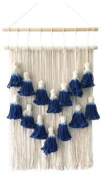 Bungalow Rose Layered Macrame Wall Hanging