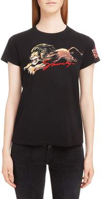 Givenchy Lion Graphic Tee