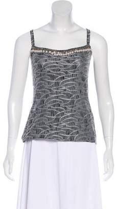 Chanel Embellished Knit Top