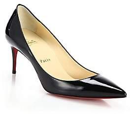 Christian Louboutin Women's Decollete 70 Patent Leather Pumps