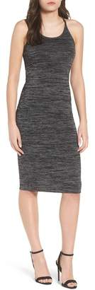 Leith M?lange Body-Con Dress